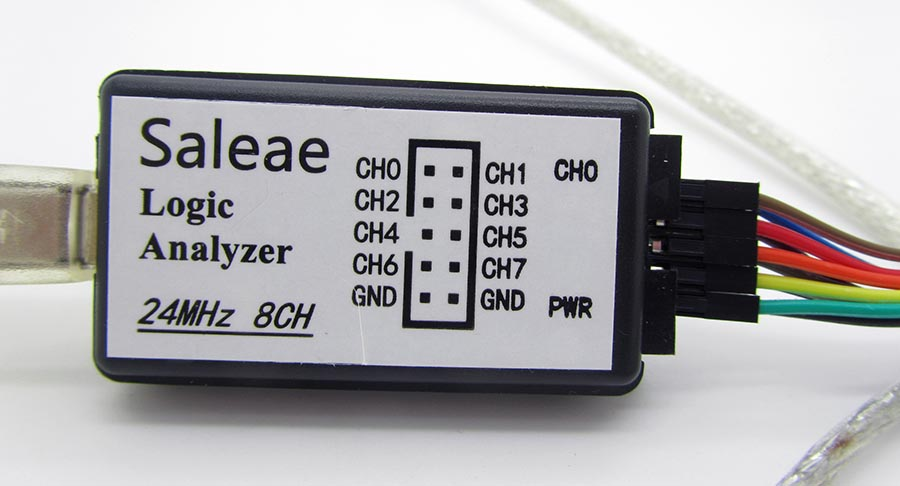 Saleae Logic Analyzer