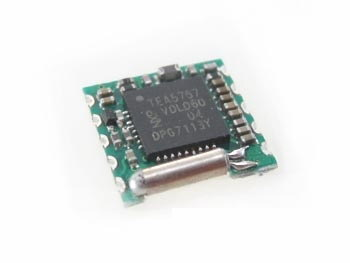Programmable Low-power FM Stereo Radio Module TEA5767