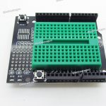 Arduino prototype shield with breadboard 2