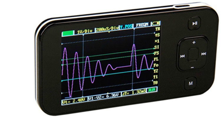 Portable Digital Oscilloscope : Retired portable digital oscilloscope dso nano v