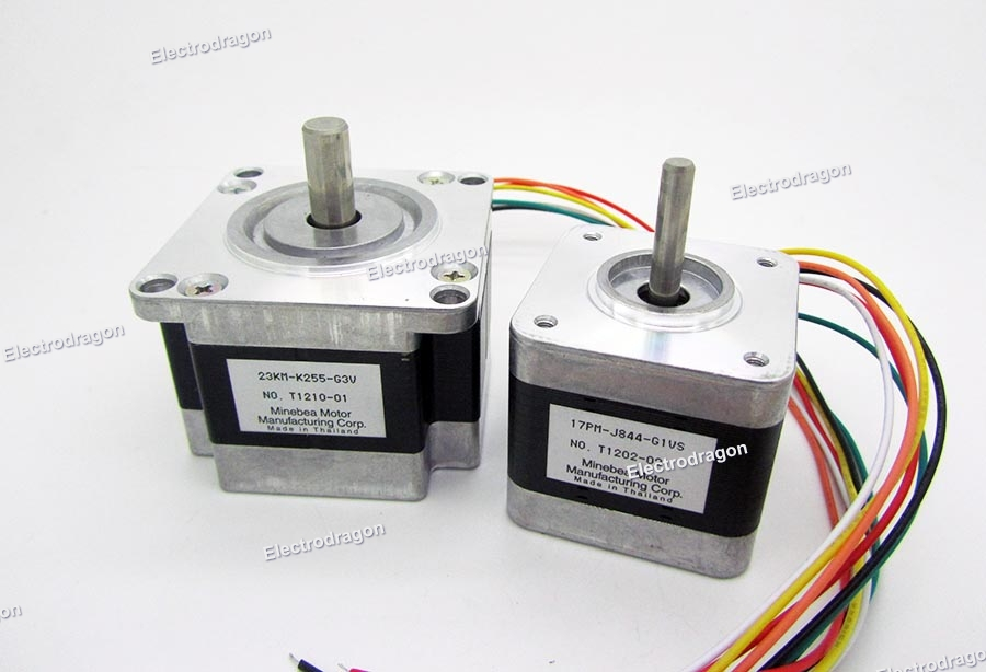Retired Stepper Motor Variable Types Electrodragon