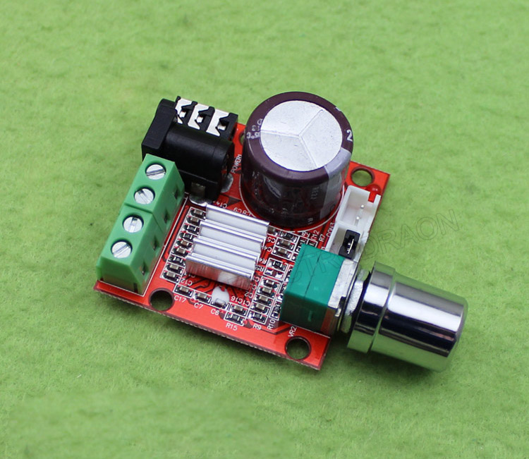 2 10w Dual Channel Hifi Mini Audio Amplifier Pam8610